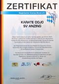 zertifizierter Verein für qualitativ hochwertiges Karate im Bayerischen Karate Bund