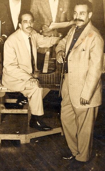 Yoyo Casteleiro y Bienvenido Granda - 1958.