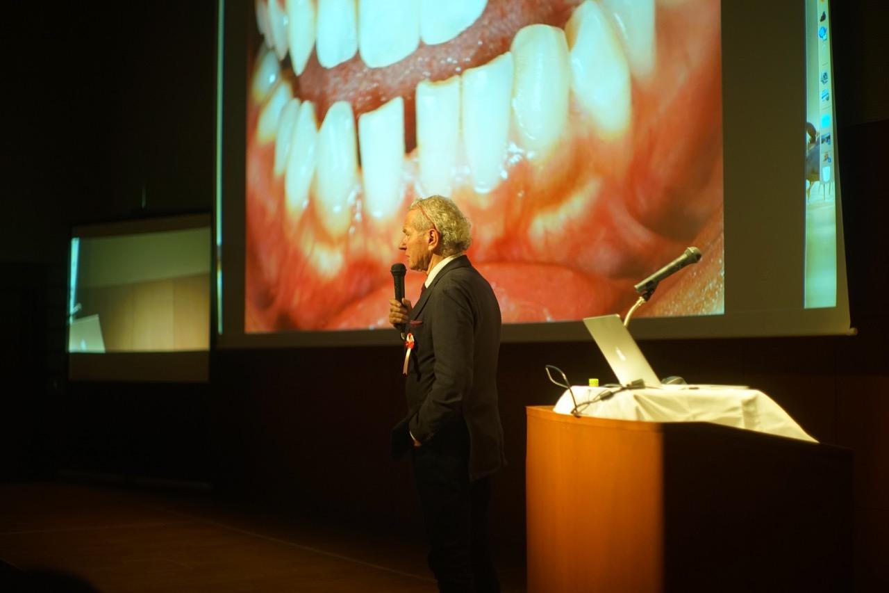 Willi Geller(oral design member)講演