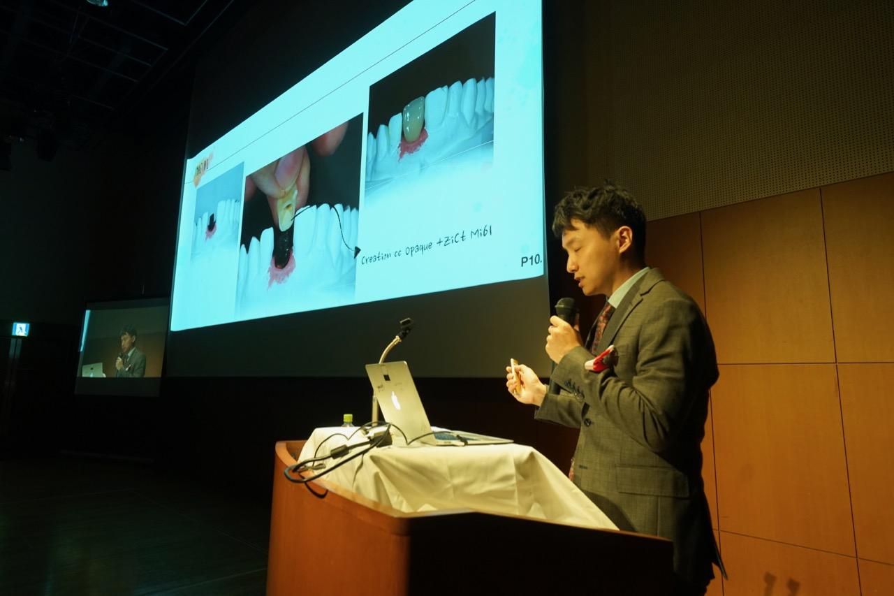 陳 建勳 Chien Hsun Chen氏(次世代演者:台湾代表)講演