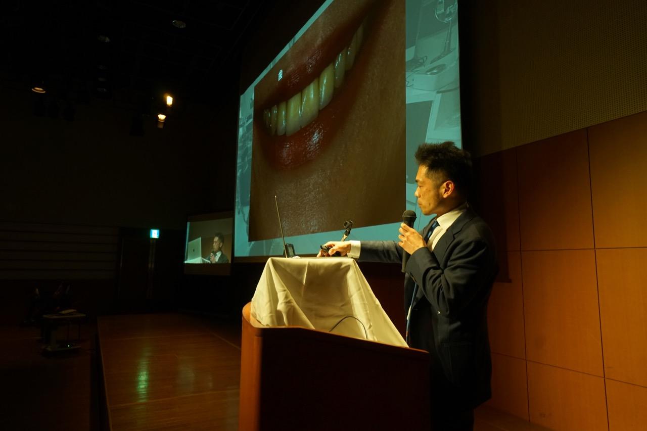 内海 賢二 (oral design member)講演