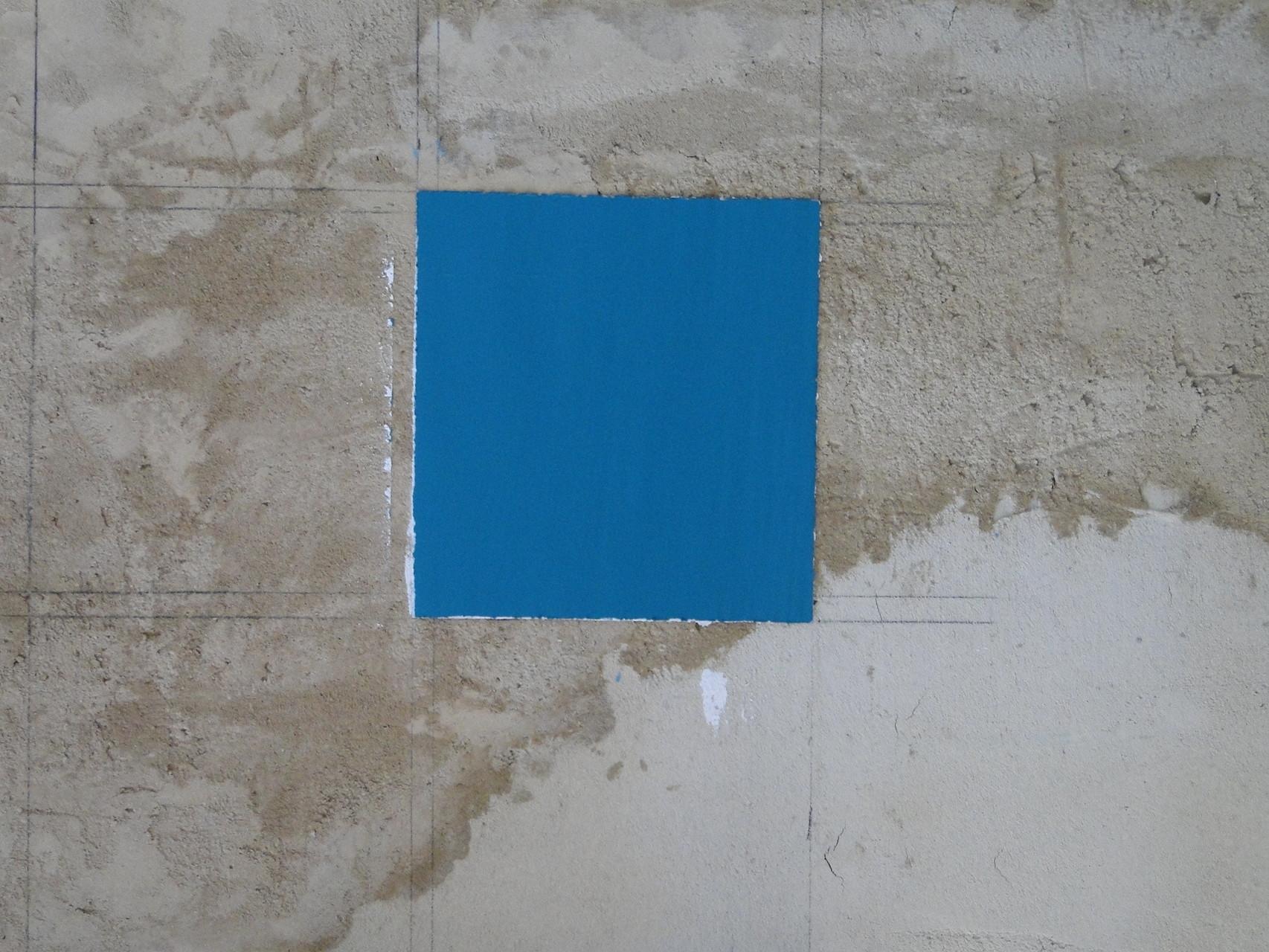 Das erste fertige Quadrat in meiner Lieblingsfarbe