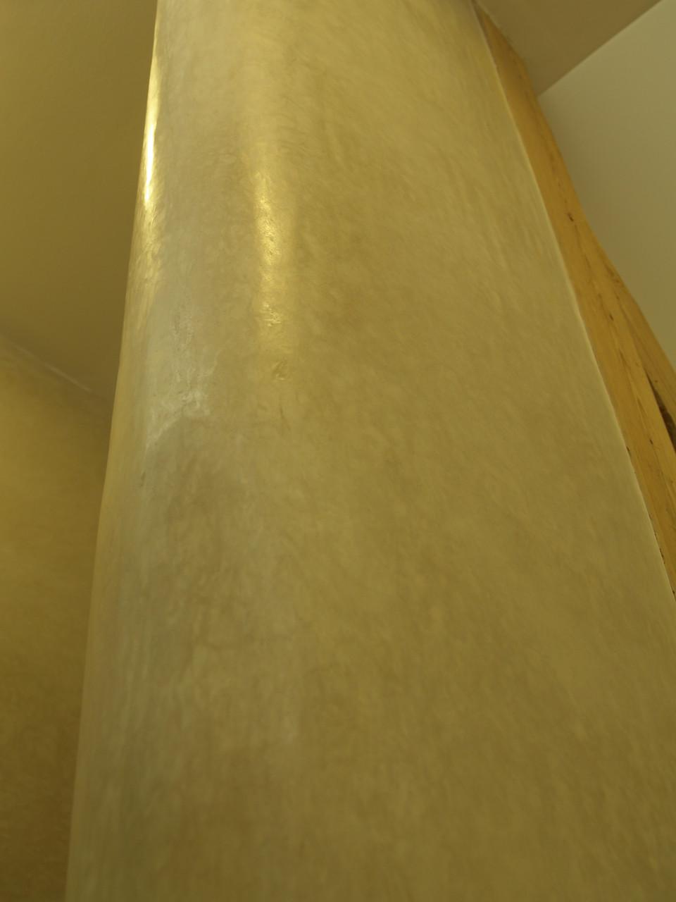 Tadelaktrundung  Eingang Dusche