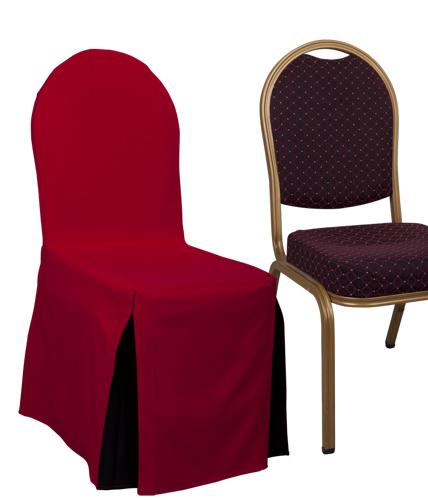 HOUSSES DE CHAISE ET JUPONNAGE POUR TABLE