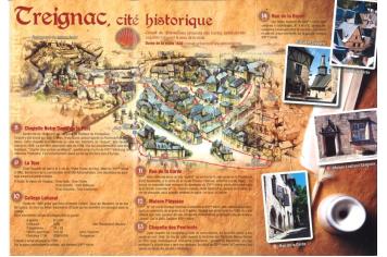 Treignac, Cité Historique - Plateau de Millevaches - Corrèze