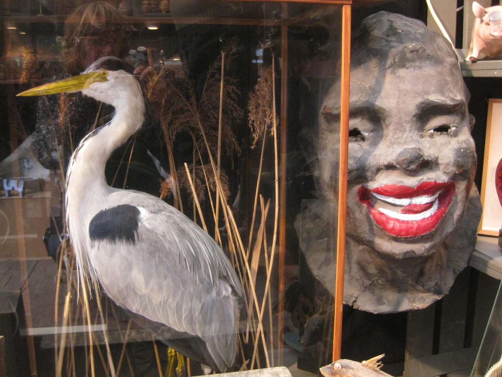 heron circa 1920 et masque de carnaval