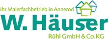 Malerfachbetrieb W.Häuser Rühl GmbH & Co. KG