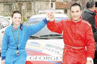 Victoire au Sartenais dont il est le recordman , ici en 2007 avec Nathalie Courreges.