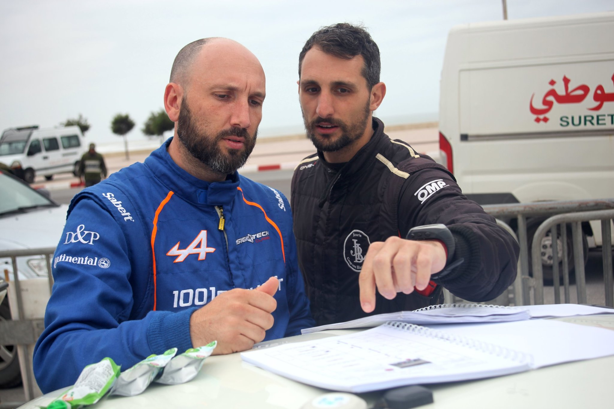 Yoann Raffaelli et Patrick Chiappe