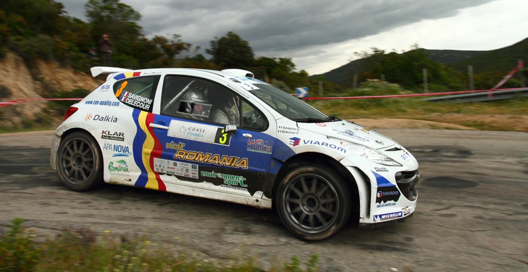 Delecour-Savignoni . Photo Rallye-Mania-cz