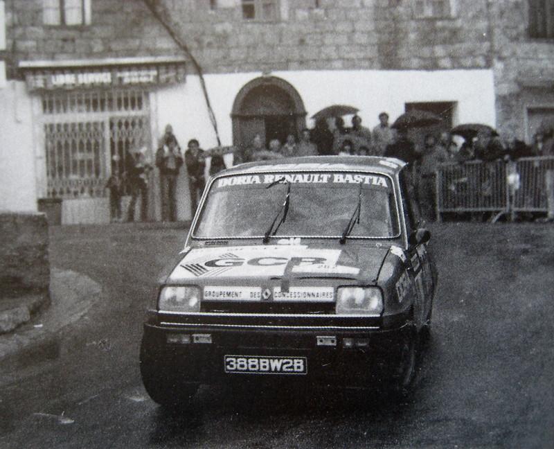 1 er Coupe de Corse Renault 5 . DE RIU-MARIANI