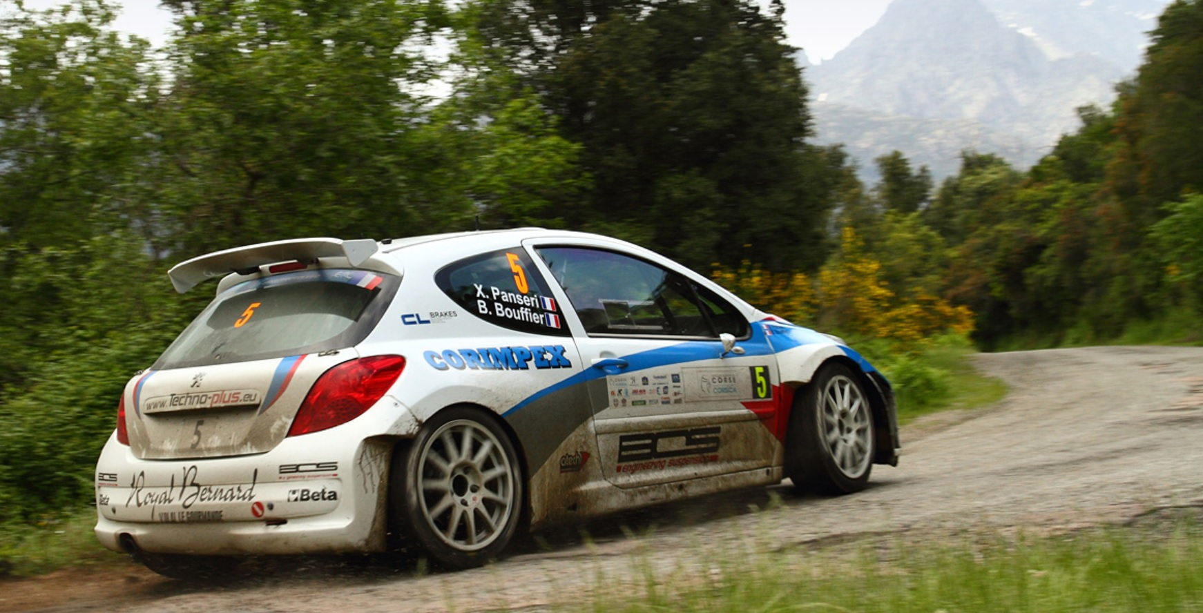 Bouffier-Panseri .Photo Rallye-Mania-cz