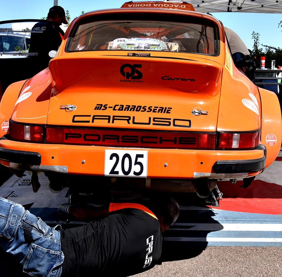Andre Caruso - Cedric Santini (championnat de France des rallyes)