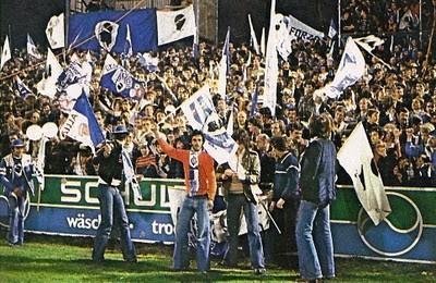 Les supporters bastiais à ZURICH
