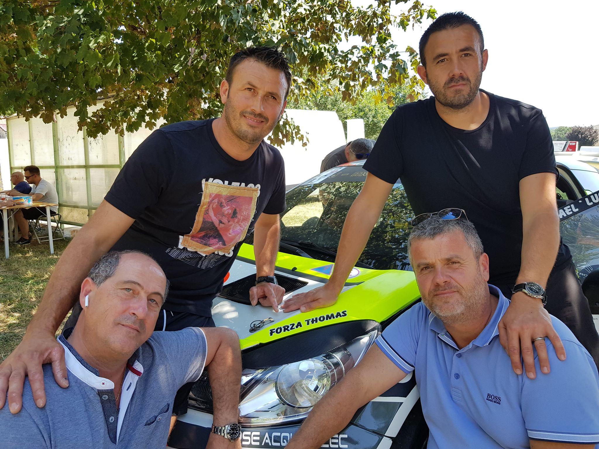 T et D Agostini avec JM De Meyer et E Fratti