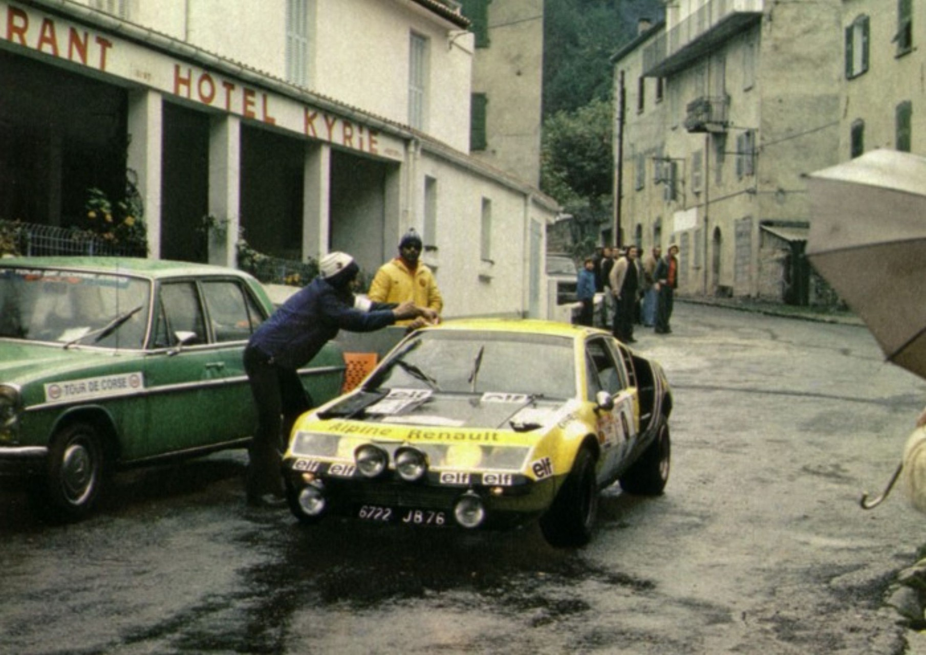 6 ème : VINCENT-JAUBERT (ALPINE A 310)