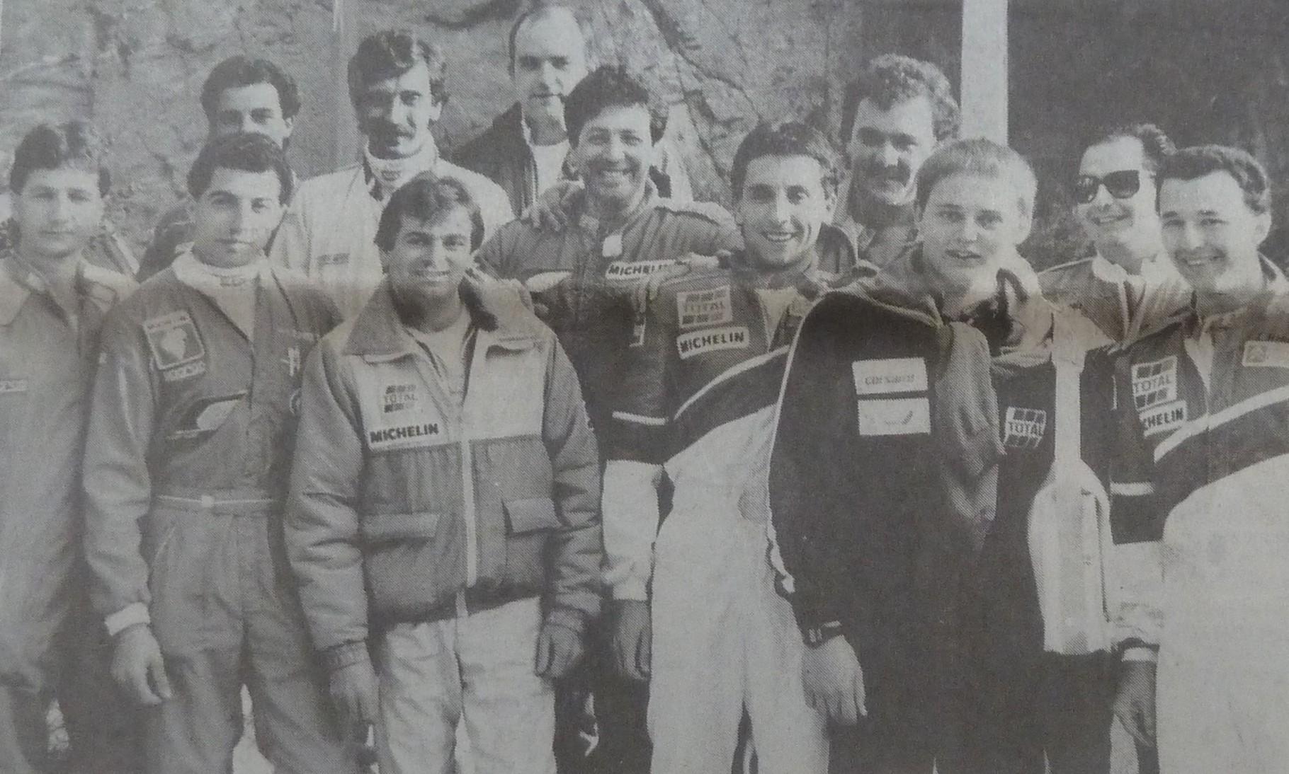 Quelques pilotes Corses .