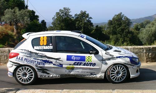 Tour de Corse 07 avec Olivier Poggi