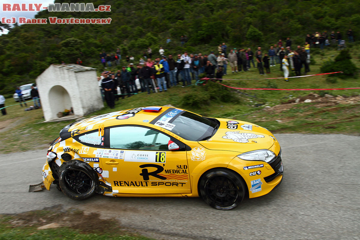 Consani-Gorczyca . Photo Rallye-Mania-cz