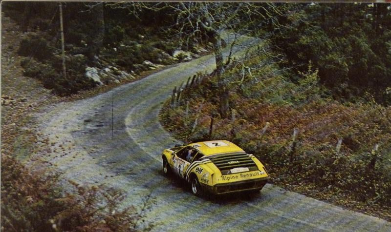 ABANDON : THERIER-VIAL (ALPINE A310)