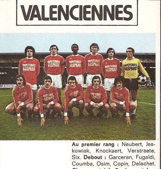 VALENCIENNES 75/76