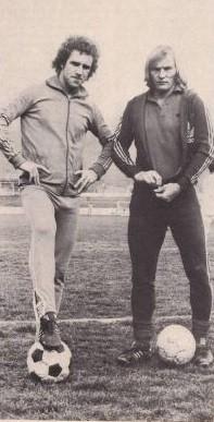 PF.Heidkamp et R.Neuman qui n'ont pas eu l'occasuin de jouer souvent ensemble à cause de la règle des 2 étrangers