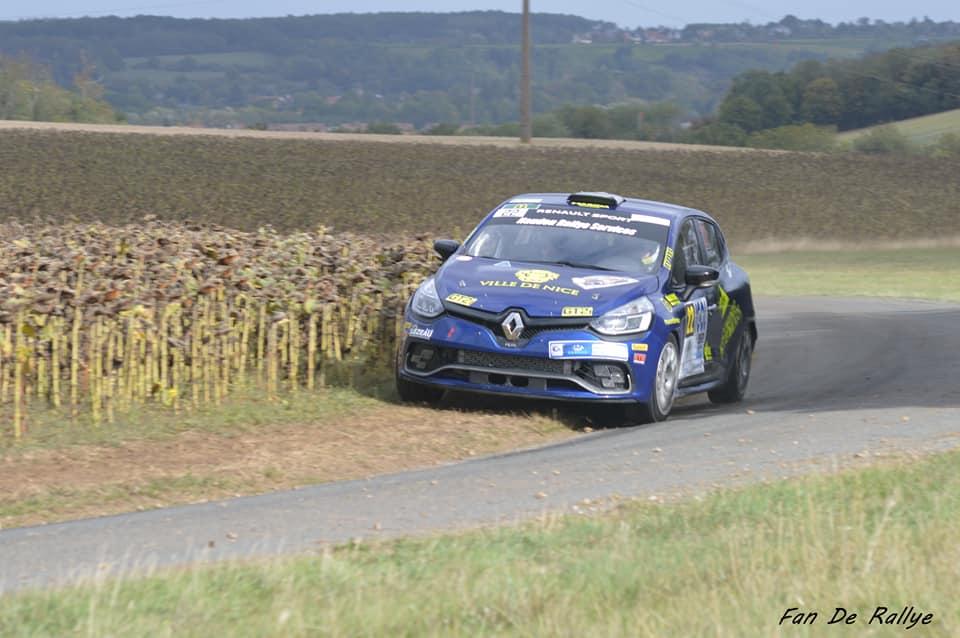 Romain Di-Fante - Patrick Chiappe (fan de rallye)