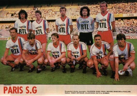 Avec le PSG en 87/88
