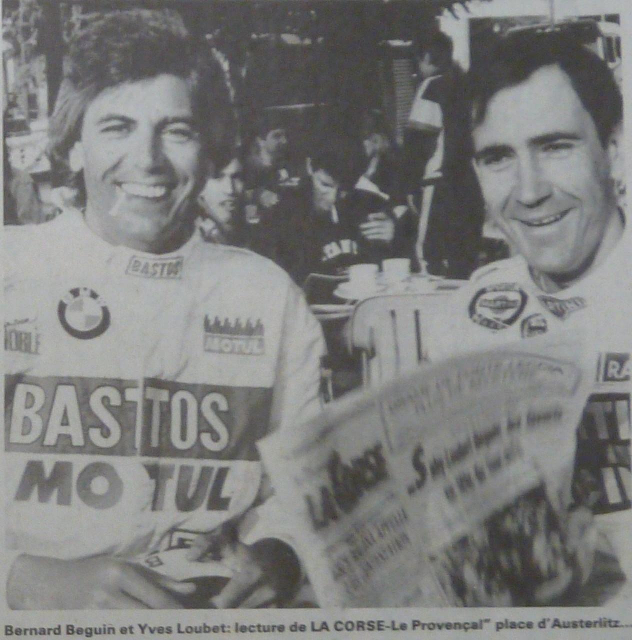 Bernard BEGUIN et Yves LOUBET