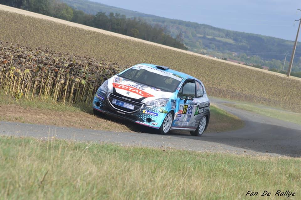 Matt Franceschi - Benoit Manzo ( fan de rallye)