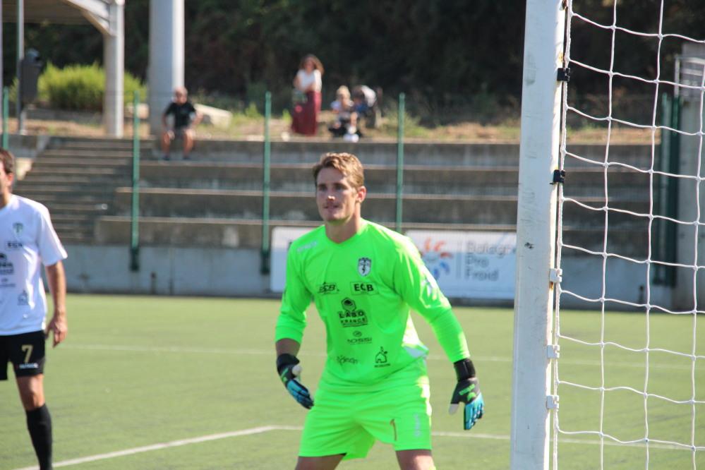 Clément Maury (Balagne)-Sud FC . Photo : X Romieu