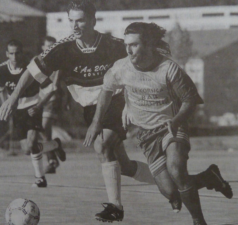 14e j : Cervione-FCCC . Pieri et Mosali .