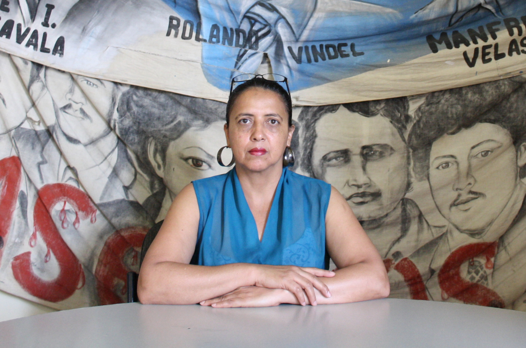 Dina Meza, Honduras © Nina Kreuzinger, 2012