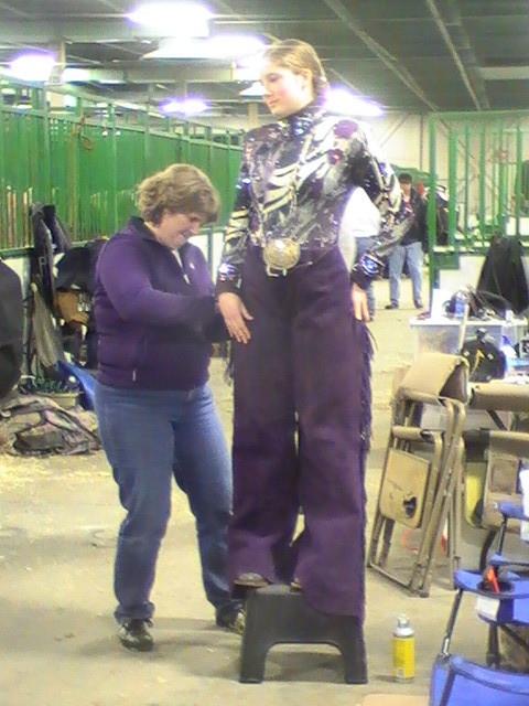 """Préparation pour la classe de """"Horsemanship"""""""