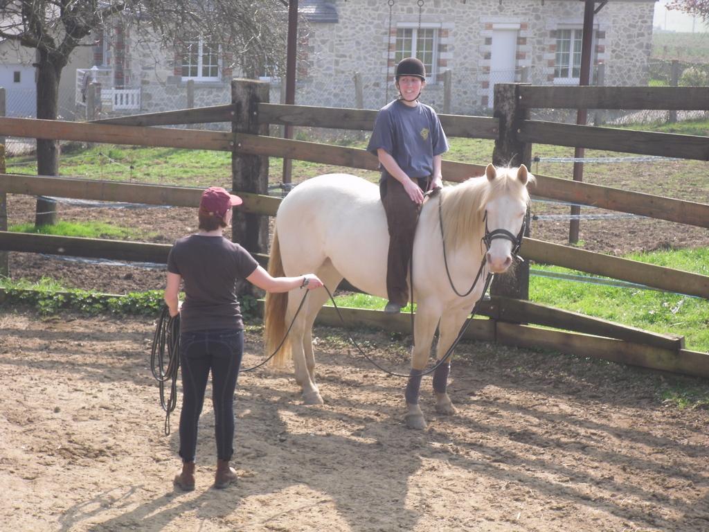 Il faut faire confiance au partenaire qui tient le cheval...