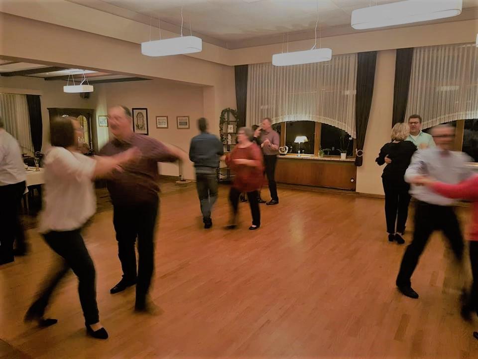Winterfest des Tanzen an der Schlei in Güby bei Schleswig