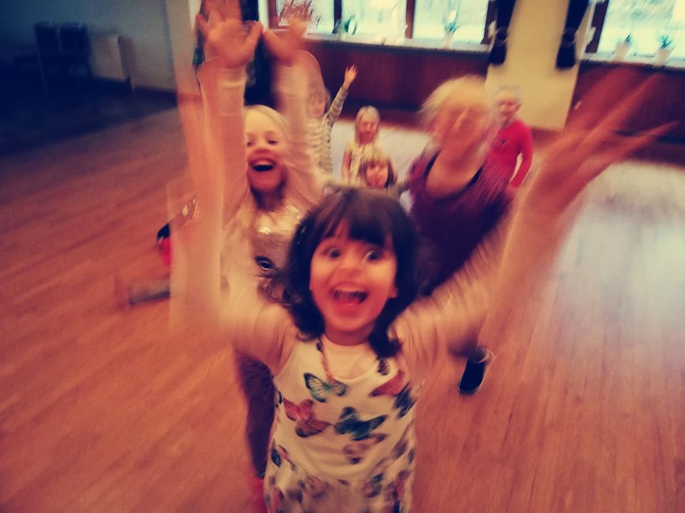 Tanzen, Lachen, Spaß haben