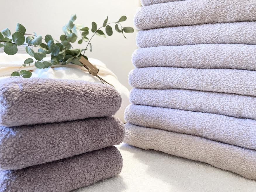 サロンのタオルと、そのお洗濯。