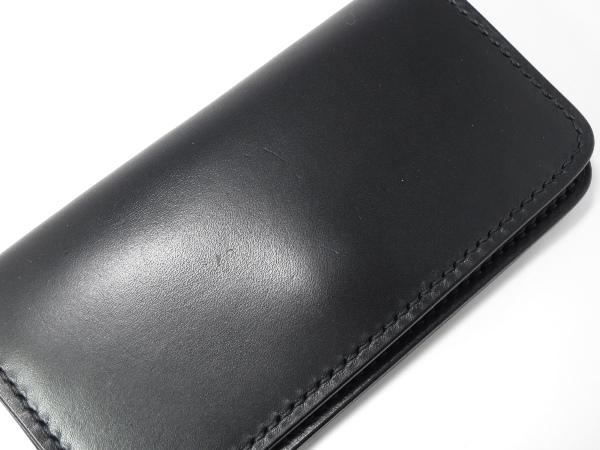 黒羽 長財布 ブラック