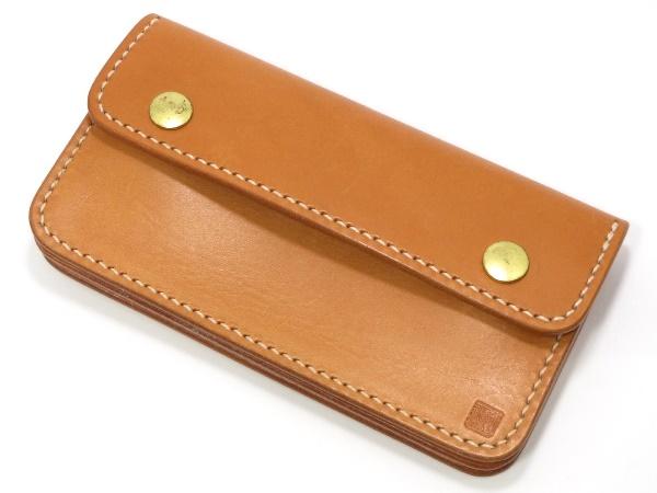 黒羽 フラップボタン財布