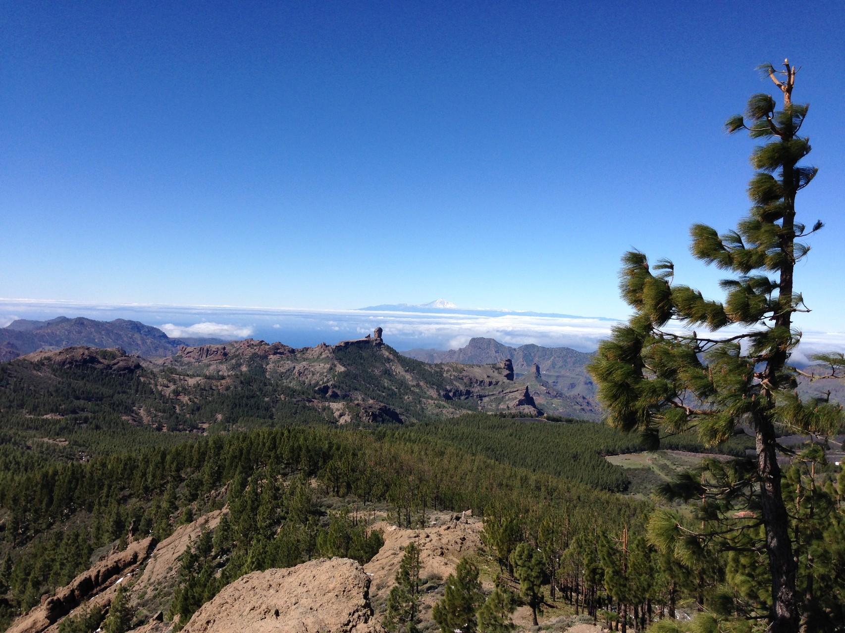 Die Aussicht vom Gipfel
