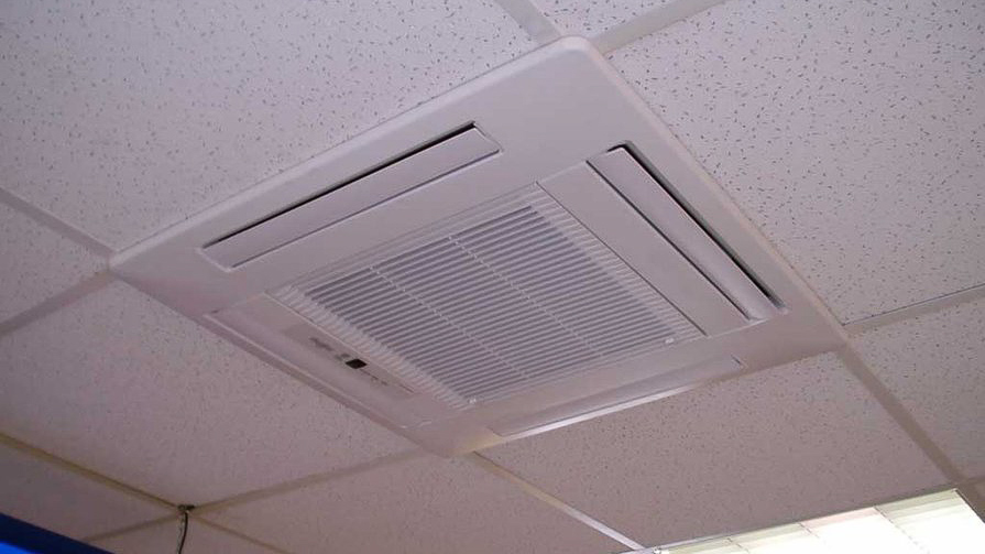 Cassettes climatisation plafond