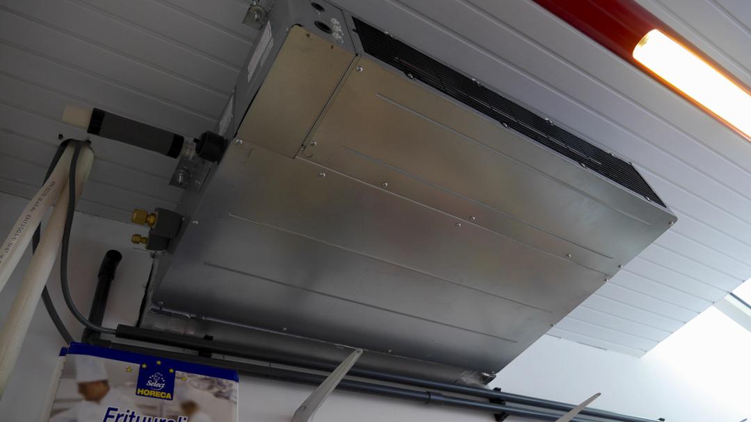 Chantier climatiseur encastré VDV