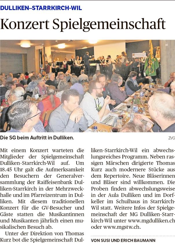 Oltner Tagblatt, 14.3.2019, S. 26
