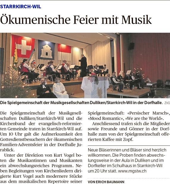 Oltner Tagblatt, 22.12.2016, Seite 28