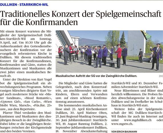 Oltner Tagblatt, 18.4.2017, S. 26