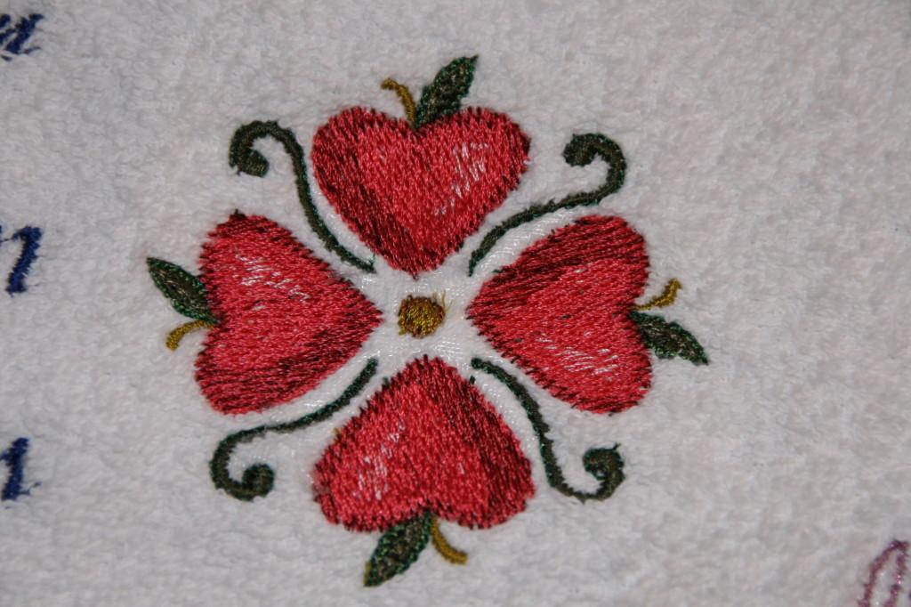 Bild: Äpfelchen in Herzform