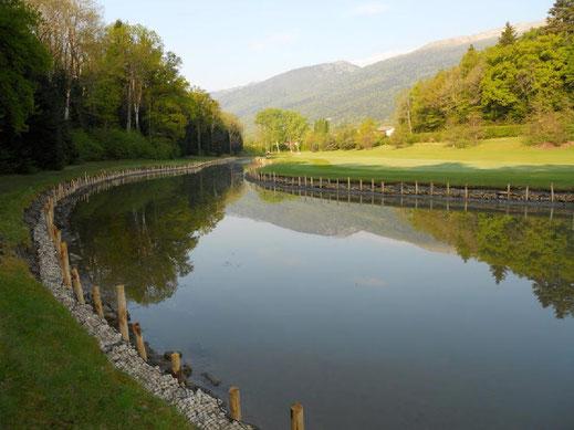 Construction d'un ouvrage hydraulique et barrage en gabions pour bassin de rétention des eaux pluviales
