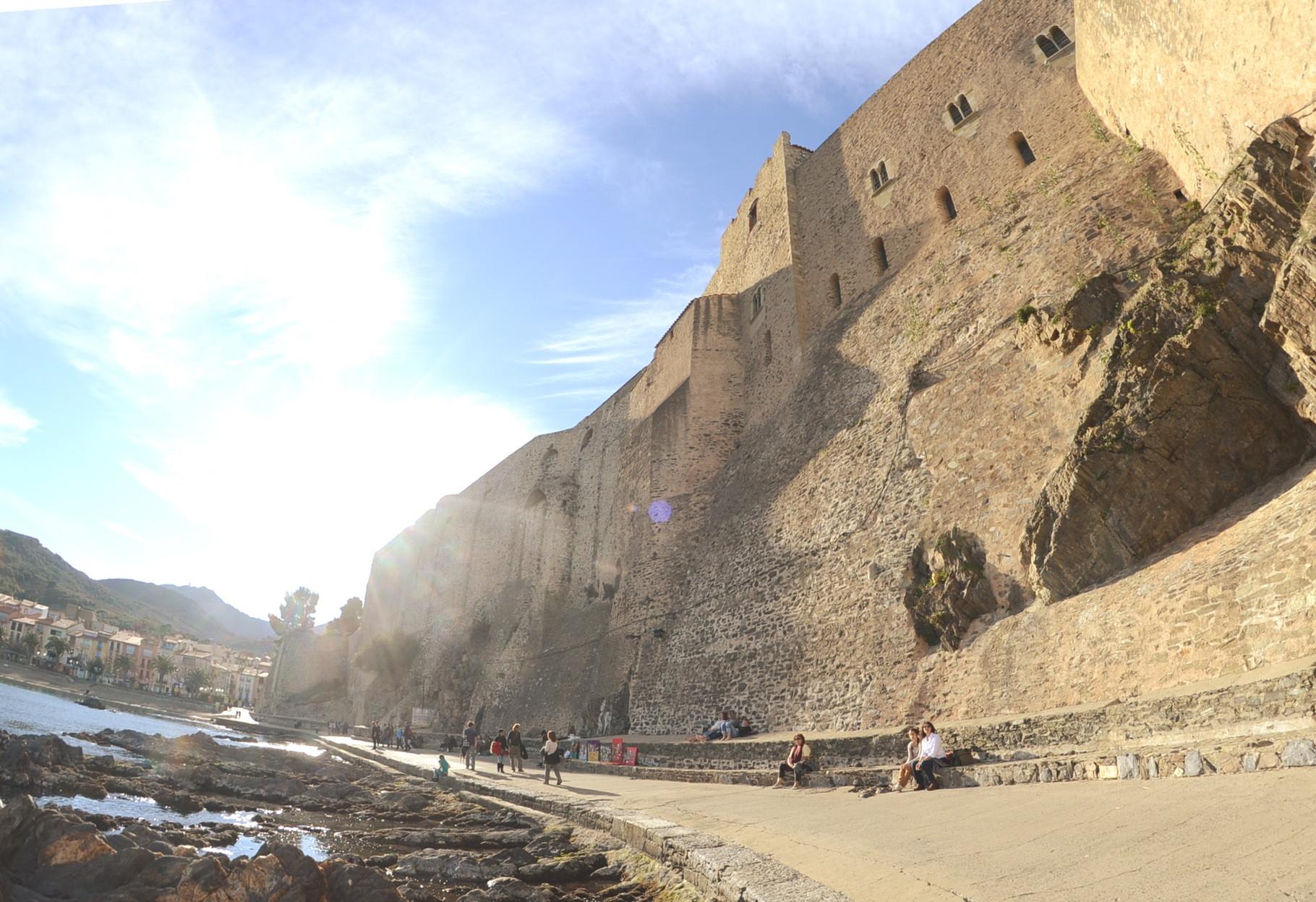 Le glacis et la muraille de Vauban