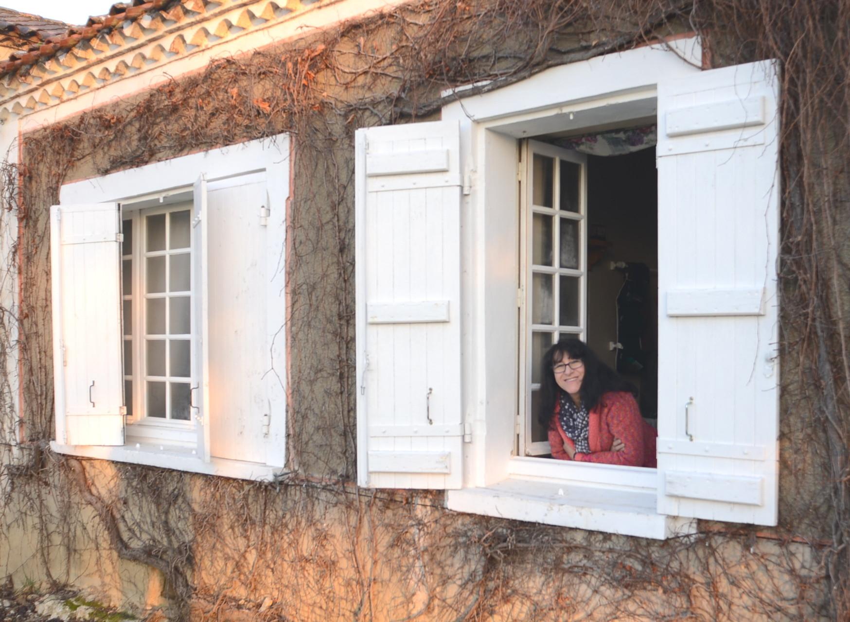 La dame à sa fenêtre